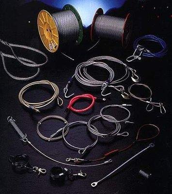 不銹鋼索0.3mm-16mm,/鍍鋅鋼索/鋼索披覆PVC,NYLON,TPU,PE./CABLE/WIRE/