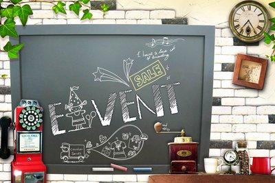 ~廣告舖~  木框黑板(板面黑)(簡約...