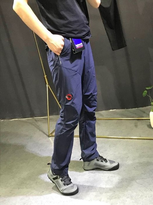 ☆CAESAR☆MAMMUT☆長毛象 戶外高透氣強韌耐磨輕便速乾休閒褲 100%原廠商品 R277 始祖鳥