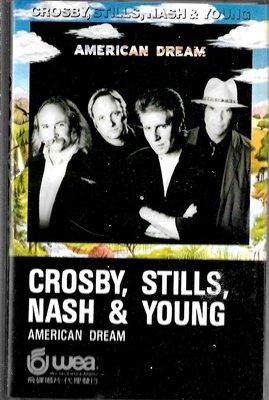 寇斯比.史提爾斯.納許與楊Crosby.Stills.Nash.Young  / 美國夢(原版錄音卡帶.附:歌詞本)
