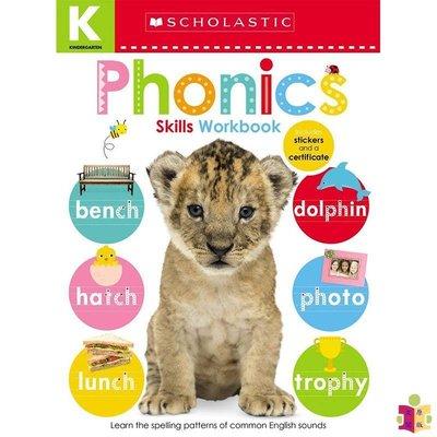 [文閲原版]學樂啟蒙練習:幼兒技能-語音 英文原版Kindergarten Skills Workbook: Phoni