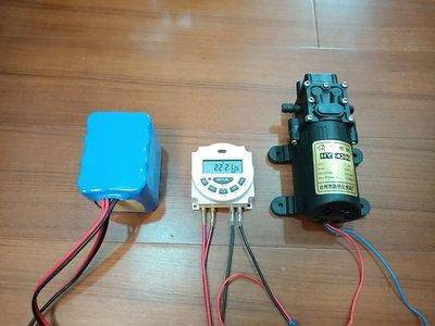 定時器 12V 110V 小型循環定時器 內置16A繼電器開關 定時開關 水泵定時 燈光定時 時間控制器