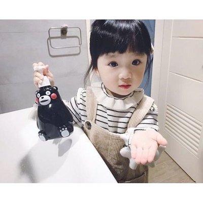 【KUMAMON】防武漢肺炎病毒 多洗手 買一送一  日本 酷 ma 萌 熊本熊 蘋果  清潔 洗手乳 消毒 另售口罩