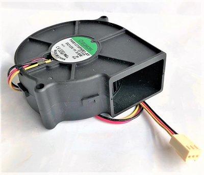 『正典UCHI電子』SUNON Blower DC12V 75.7mm x 75.7mm 側吹 鼓風機