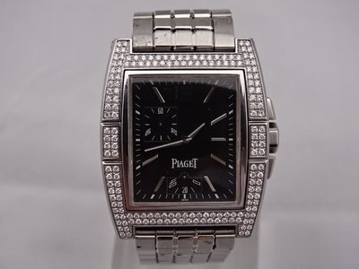 永鑫典精品 伯爵 piaget  Upstream 系列不鏽鋼男用腕錶 男錶 手錶 流當品 特價中