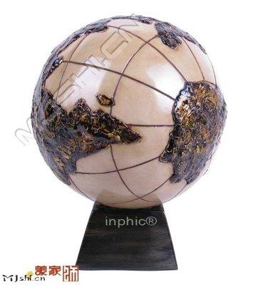 INPHIC-東南亞風情裝飾歐式工藝擺飾泰國擺飾工藝品地球儀