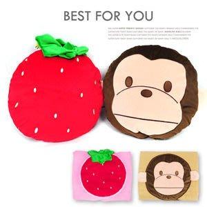 【推薦+】草莓造型涼被P002-2007(靠枕.立體抱枕.棉被子.被單.午睡抱枕.草莓造型.台灣製造)