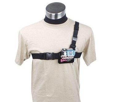 GOPRO SJ 4000 Chest Mount Harness 副廠 配件 單肩胸帶 胸前固定肩帶