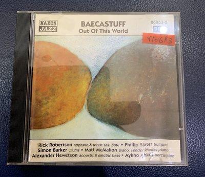 *還有唱片行*BAECASTUFF / OUT OF THIS WORLD 二手 Y10693