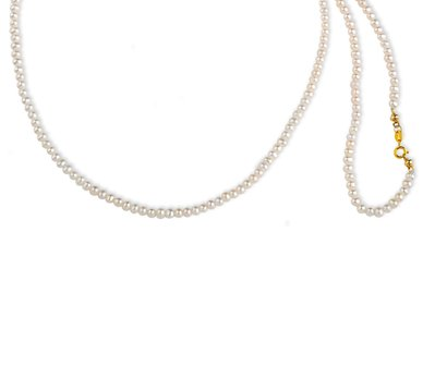 【JHT金宏總珠寶/GIA鑽石專賣】 天然珍珠串鍊(JB50-A26)