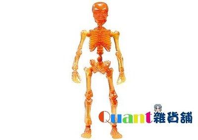 ∮Quant雜貨舖∮┌日本盒玩┐RE-MENT 骷髏 Pose Skeleton 療癒骷髏人 大人 03 #11 火焰色