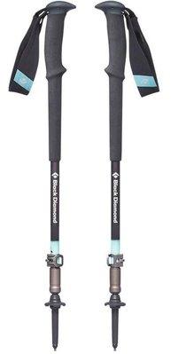 【Black Diamond】112505《成對銷售》女款 快扣式鋁合金登山杖 Trail PRO W 95-125cm