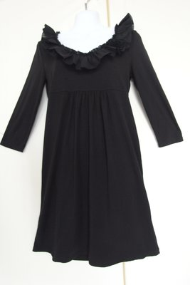 J. CREW  時尚優質 黑色長袖洋裝 S號.
