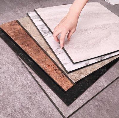塑膠地板 自粘石塑PVC地板革加厚耐磨防水塑料塑膠地膠地板貼紙家用臥室