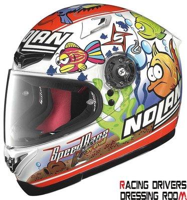 ♚賽車手的試衣間♚ Nolan® X-802 R Replica Melandri Aquarium WS 安全帽