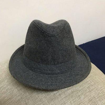 二手優質紳士帽 爵士帽 英倫禮帽 時尚復古毛呢款 男女均可戴 新北市