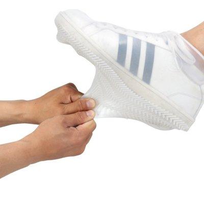 加厚防滑雨鞋套 可折疊 雨鞋套 防滑 攜帶式 矽膠雨鞋套 鞋套 防雨套 雨具 【RS958】