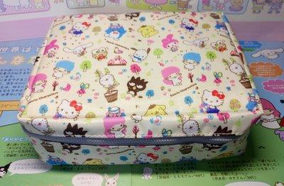 雙子星店 Sanrio LittleTwinStars Kuromi Kitty Melody 肉桂狗 布丁狗 XO 青蛙仔 旅行收納袋 一套三個 正版 免平郵