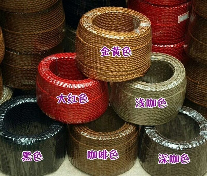 【M】彩色編織絞線 個性裝飾電線 双股裝飾電線 編織絞線 每m單價50元