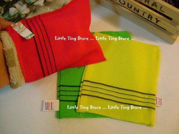 Little Ting Store:韓國狂賣老牌三溫暖㊣去角質 搓澡布手套 美白肌膚 牛爾老師推薦
