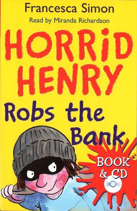 *小貝比的家*HORRID HENRY ROBS THE BANK /平裝書+CD/7~12歲