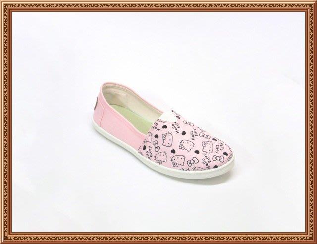 719874 ☆.╮莎拉公主❤三麗鷗凱蒂貓Hello Kitty凱蒂貓超Q軟底百搭便鞋 懶人鞋/平底包鞋
