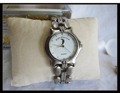 二手舖~ NO.26高級時尚POLO男用錶 老闆慶祝3周年原價3230元優惠價1支只賣800元 庫存全新品