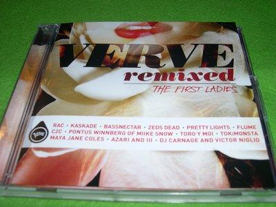 ~春庄生活美學小舖~2手CD        VERVE REMIXED--THE FIRST LADIES