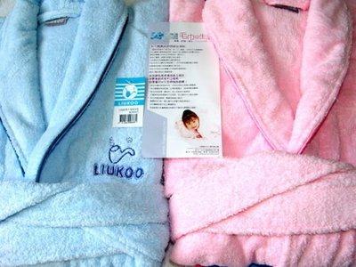 LIUKOO煙斗純棉100%超厚浴巾布超保暖浴袍2件免 製