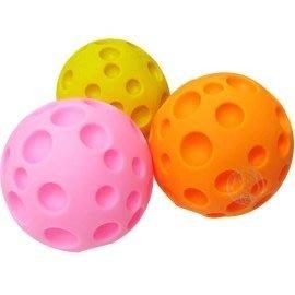 【🐱🐶培菓寵物48H出貨🐰🐹】凹洞啾啾叫大顆玩具球-3種顏色 特價88元(適合中大型狗玩)