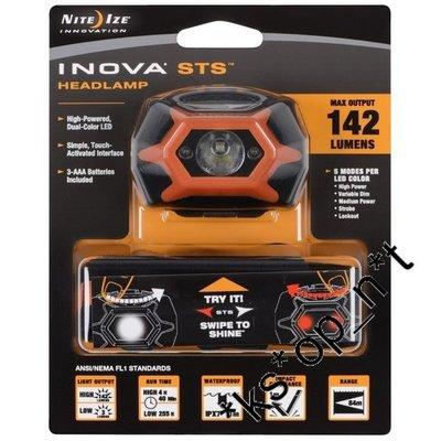 {MPower} 美國名廠 Inova STS 輕觸式 頭燈 LED 電筒 ( 3A, AAA, 行山, 露營 ) - 原裝行貨
