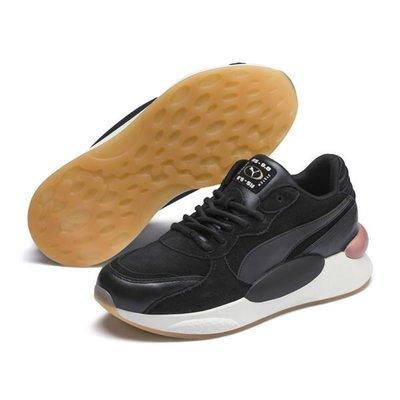 =E.P=PUMA RS 9.8 METALLIC 黑色 厚底 老爹鞋 休閒鞋 女鞋 370504-01