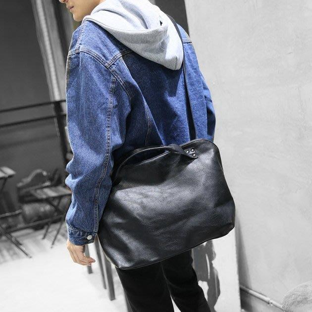 FINDSENSE 韓國男包 G6 男用休閒包 手提包斜挎單肩包運動包包斜跨包男士休閒包袋商務電腦包出差旅遊公事包