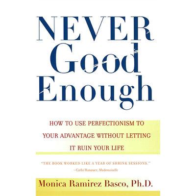 不執著,叫看破 不完美,是生活 英文原版 Never Good Enough 生活哲學