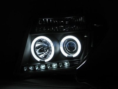 ~~ADT.車燈.車材~~NISSAN PATHFINDER FRONTIER 05年 CCFL光圈魚眼黑底大燈一組
