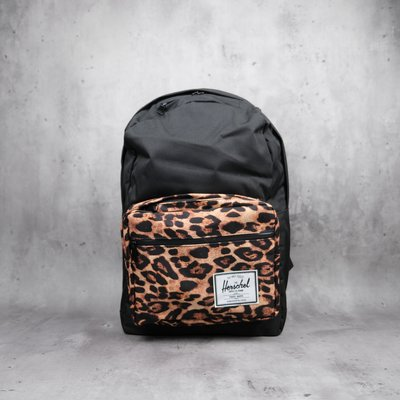 Herschel Pop Quiz 電腦多夾後背包Black/Desert Cheetah 10011-02101-OS