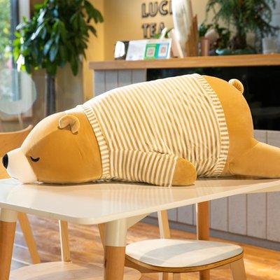 佈谷林~可愛抱抱熊公仔毛絨玩具床上趴趴陪你睡覺超軟抱枕女生玩偶布娃娃