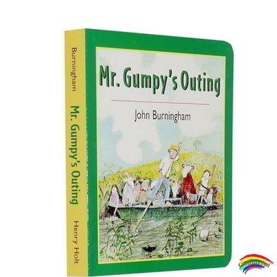 英文原版繪本 Mr Gumpy's Outing 和甘伯伯去游河吳敏蘭書單 紙板書吳敏蘭推薦圖畫書 3-6歲英語閱讀晚安睡前故事圖畫書 早教啟蒙