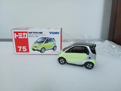 (多美小車)舊藍標Tomy NO.19 smart for two coupe (A375)