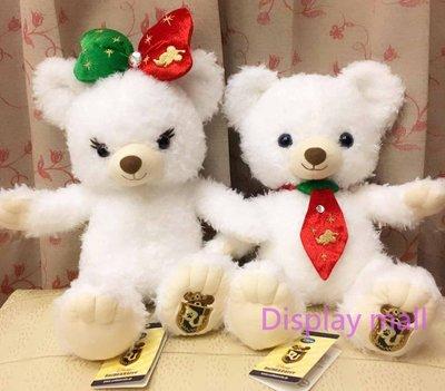 迪士尼大學熊S號韋伯帕妃聖誕節限定款聖誕節臉好看日本代購交換禮物正貨週年慶特價2650元 Display