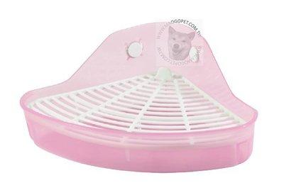 皇冠 ACEPET 優質果凍粉嫩新色 愛兔便盆 貂便盆 天竺鼠尿盆 兔廁所#771-T 塑膠踏板好清洗,每個190元