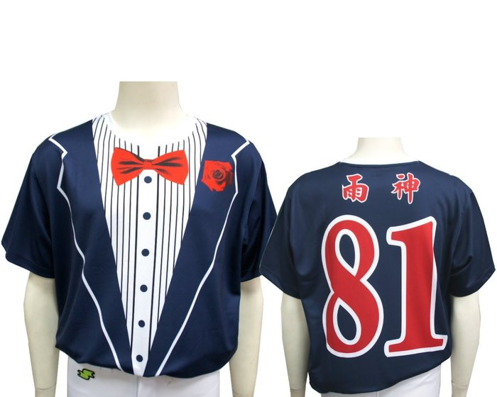 《星野球》熱昇華排汗衣訂製,西裝領結排汗衣,棒壘球 馬拉松 路跑  健身房各式運動,可加背號 個人名字