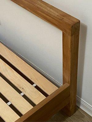 詩肯柚木 柚木元素 系列 雙人床架