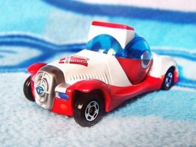 TOMY 多美 合金小汽車 會場限定版 Tomica 非賣品  TDM 可轉現代復古 未來雙頭車