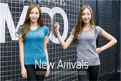 ~☆☆BIGMAYMAY☆☆~中大尺碼【X2203】大碼新款棉綸舒適優質運動休閒瑜伽短袖上衣