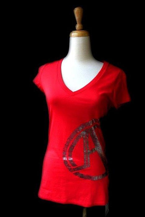*Beauty*ARMANI EXCHANGE 紅色短袖棉T恤 JW 原價1590元 售1000元