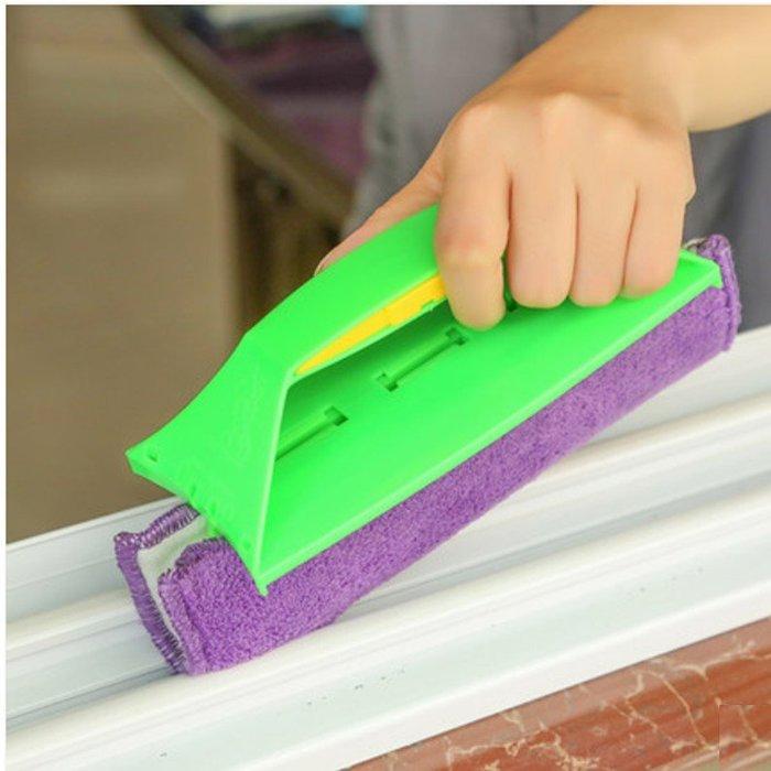 窗戶縫隙清潔工具擦窗戶神器軌道凹槽窗布(1入)_☆找好物FINDGOODS☆