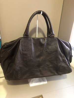 Bitters Veneta BV 咖啡色手提袋 肩背包 旅行袋 斜背包