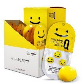 【韓Lin連線代購 】韓國 READY Q - 超人氣芒果軟糖 微笑臉軟糖*10包 (3顆/包)