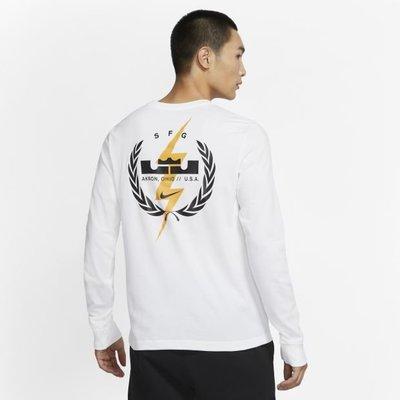 南◇2020 10月 Nike  LeBron CV2080-100 白色 CV2080-010 黑色 長袖長T LBJ